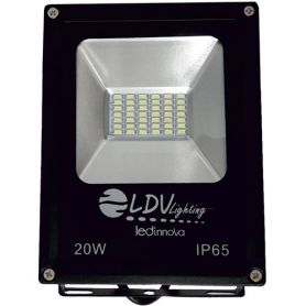 Proyector led sdm 20w 1600lm 120º 6000k ldv
