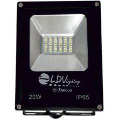 Proyector LED SMD 20W 1600Lm 120º 6000k LDV Lighting