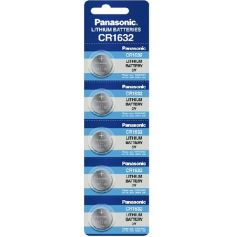 Pila boton litio cr1632 3 v(blister de 5 und) Panasonic
