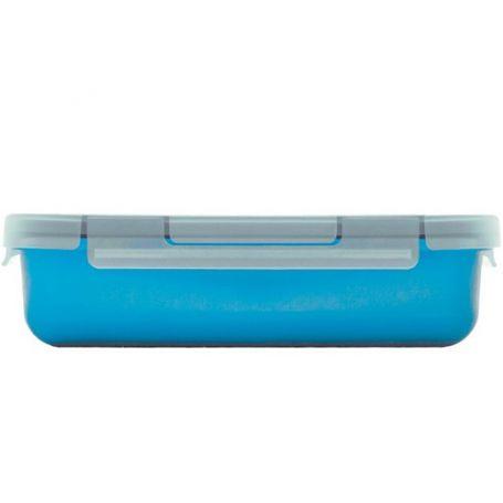Nomad tupper contenedor 0.50 litro azul valira