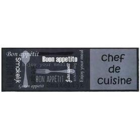 Alfombra de cocina 50x150 cm kitchen vaisselle dintex