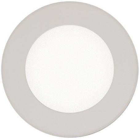 Downlight led 12w 900lm redondo 3000k cromo mate ldv