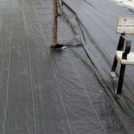 Malla antihierba 2,10x100m verde-negro novartix