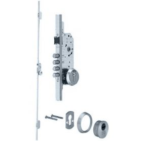 Cerradura seguridad embutir tlb3 3 puntos niquel 60mm tesa