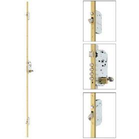 Cerradura seguridad automatica 3 puntos esmaltado 60mm tesa