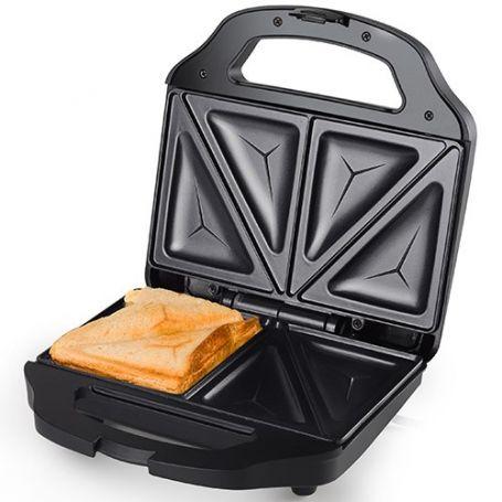 Sandwichera acero inox. 700w tristar