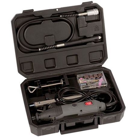 Multi drill 135w con 40 accesorios con maletin powerplus