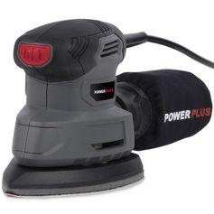Lijadora de mano 140w powerplus