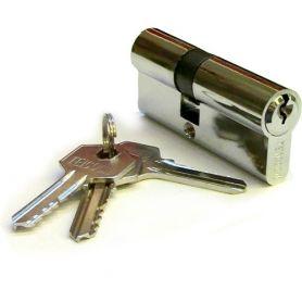Cilindro 790 70mm latón cromado descentrado Teicocil