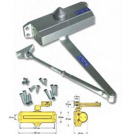 Cierra puertas hidráulico nº 15 aluminio natural Teicocil