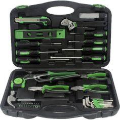 Caja de herramientas con alicates y destornilladores 55 pzas mader