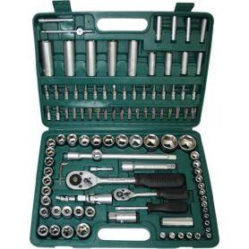 Caja de herramientas con 108 piezas Mac Power