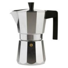 Cafetera de aluminio vitrocerámica 3 tazas Valira