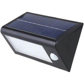 Aplique solar led sensor 4w 8000k gsc