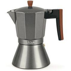 Cafetera italiana inducción Buon Caffe 9 tazas Lifestyle