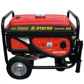 Generador AVR Stayer GAV 2800 motor de gasolina inverter