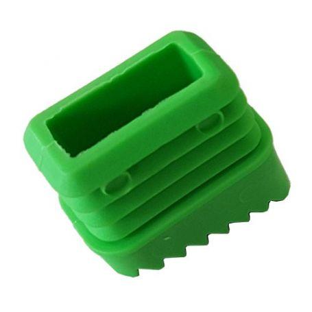 Taco antideslizante de 3cms verde para escalera aluminio ferral
