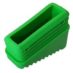 Taco antideslizante de 5cms verde para escalera aluminio ferral