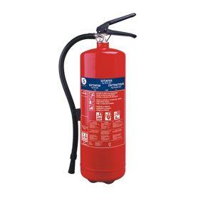 Extintor 6kg polvo seco abc bb6e tristar
