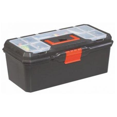 "Caja herramientas plástico 16"" 410x200x180 Mercatools"