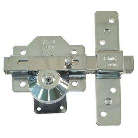 Cerrojo alta seguridad mod1 plus 90x154 cromo amig