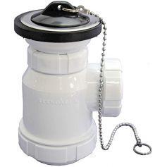 Sifon botella extensible con cadena de 1.1/2 tecnoagua