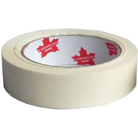 Cinta krepp tape 24 mm canadian