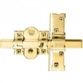 Cerrojo 946-RP/80 b-70 mm Uve dorado con barra para puerta blindada Fac