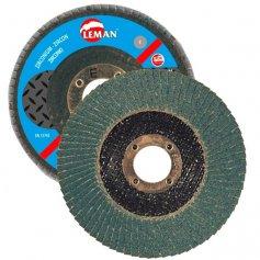 Disco de lamina zirconio 115x22 grano 80 leman
