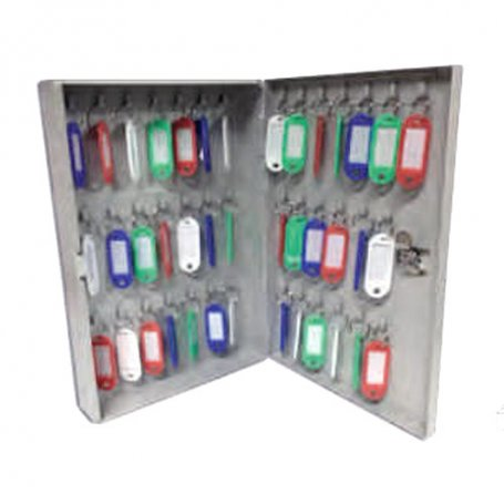 Guardallaves metálico para 40 llaves 287x192x50 Tefer