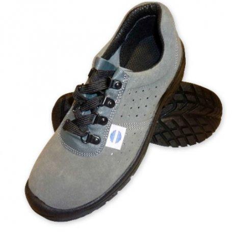Zapato seguridad serraje perforado talla 38 mod SA-325 Chintex