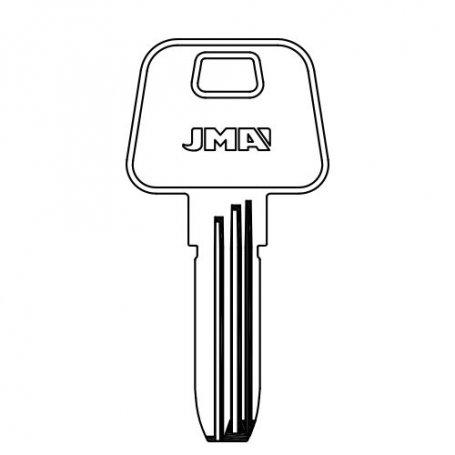 Llave seguridad acero mod AZ-12 (bolsa 10 unidades) JMA