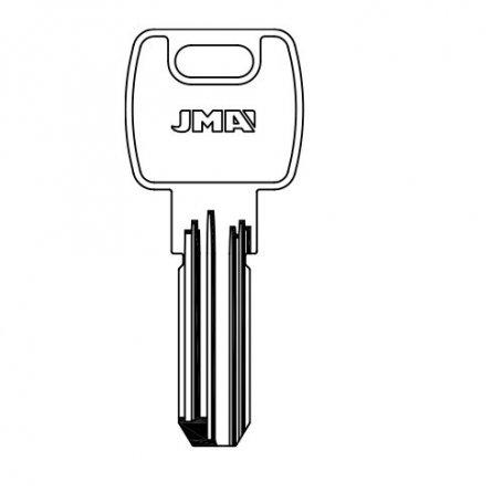 Llave seguridad laton mod mcm16e8 (bolsa 10 unidades) JMA