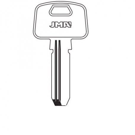 Llave seguridad laton mod mcm10 (bolsa 10 unidades) JMA