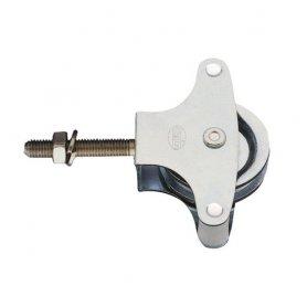Polea modelo 3 zincada roldana metalica Amig