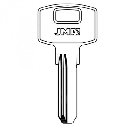 Llave de seguridad laton modelo ap-3d (bolsa 10 unidades) JMA