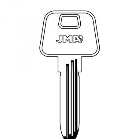Llave de seguridad laton modelo AZ-14