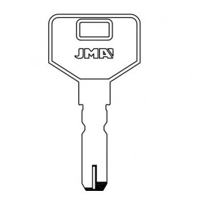 Llave de seguridad modelo EZ-DS10 de acero (bolsa 10 unidades) JMA