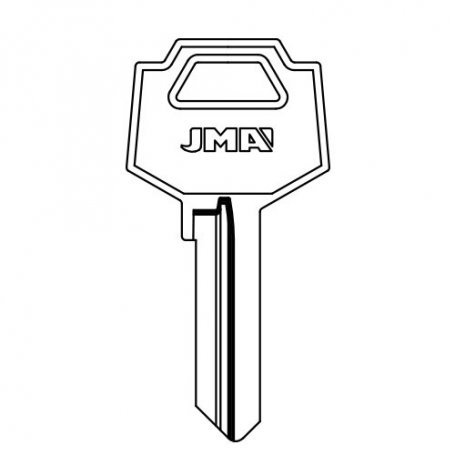 Llave serreta grupo B modelo FAC-5D (caja 50 unidades) JMA