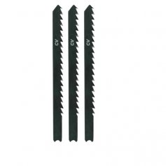 Hoja de sierra calar para madera tipo b&d l75 paso 4 mm (blt 3 uds) leman