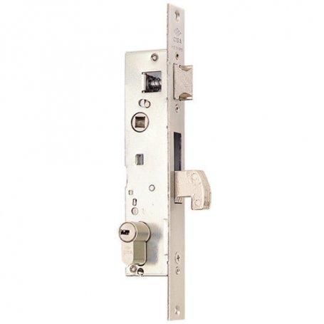 Cerradura carpinteria metalica con gancho y picaporte serie 04140 20mm Cisa