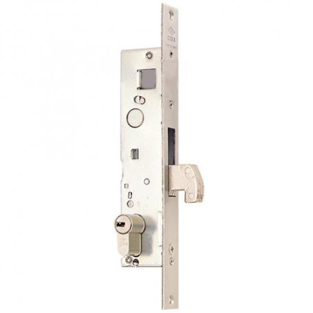 Cerradura carpinteria metalica solo gancho serie 04140 25mm Cisa