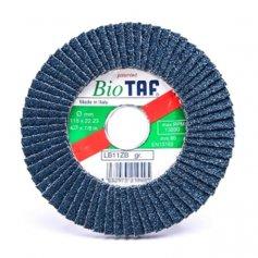 Disco de lamina zirconio 115x22 biodegradable taf LB11ZB grano 80