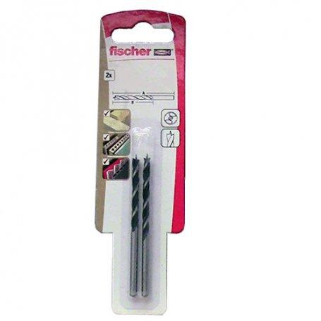 Broca para madera Fischer HB 3mm (2 unidades)