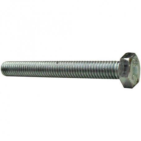 Tornillo cabeza hexagonal 12x60mm DIN 933 6.8 rosca total zincado (caja 50 unidades) GFD