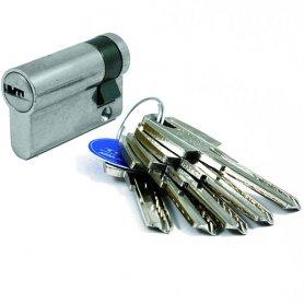 Medio cilindro Tesa T60 40x10 niquelado 5 llaves R13