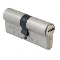 Cilindro seguridad Amig modelo 10000 doble embrague 31+31 cromo mate