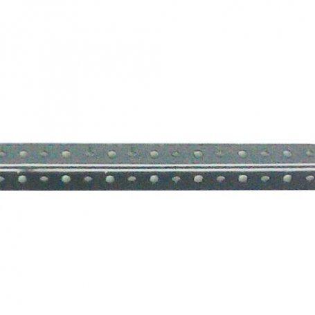 Perfil sistema ángulo ranurado gris SE/40 2000mm Jomasi