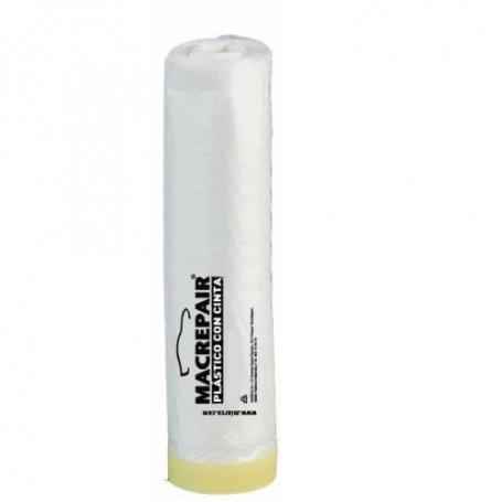 Plástico con cinta Macrepair 60cm x 22,5m Miarco