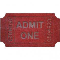 Felpudo moqueta 40x70 cm kala ticket dintex
